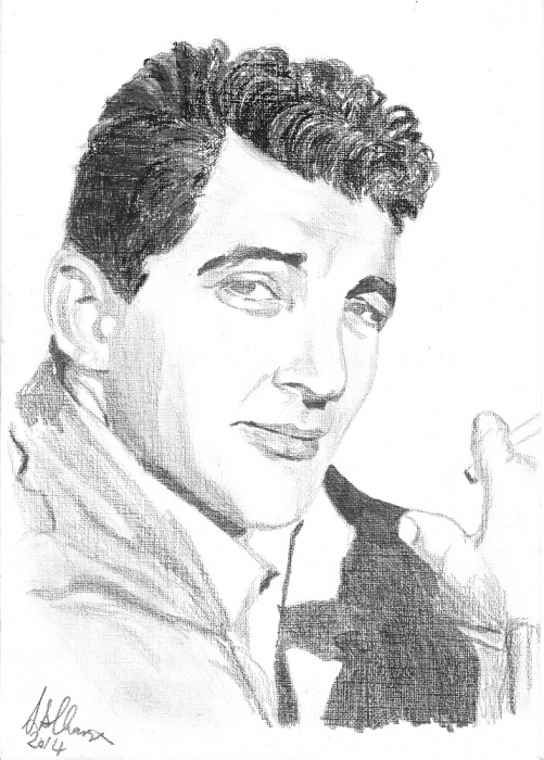 Dean Martin by Lindasart